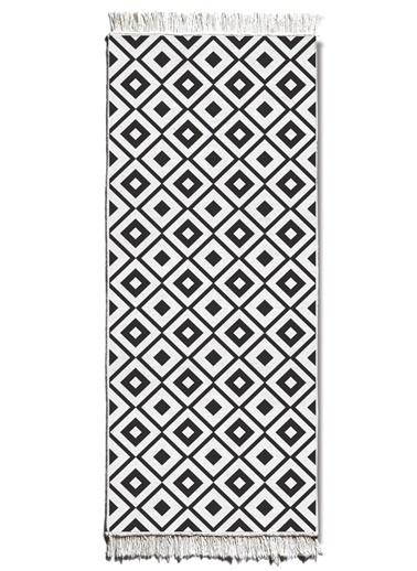 Morhipo Home Çift Taraflı Kilim 80x200 cm Siyah